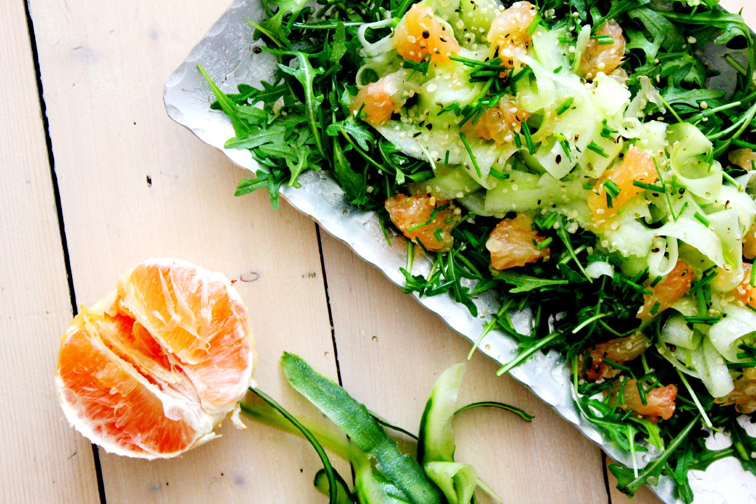 Kaip gaminti salotas?